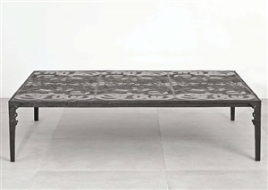 table basse anneaux by ingrid donat