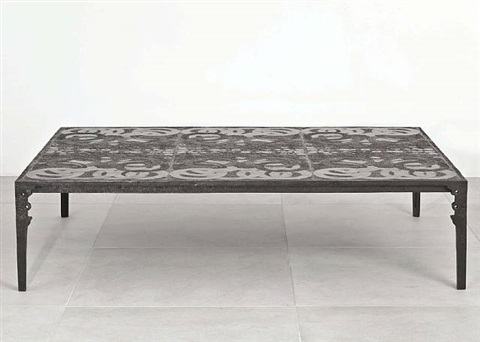 Table basse anneaux by ingrid donat on artnet - Tables basses carrees ...