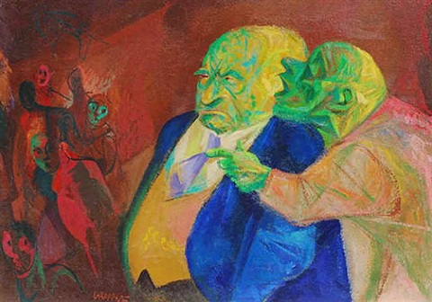 the informer by william gropper