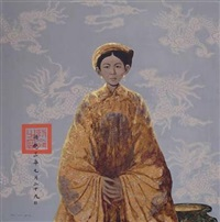 young royal woman by bui huu hung