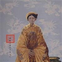 young royal woman by bui huu hung