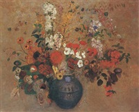 bouquet de fleurs by odilon redon