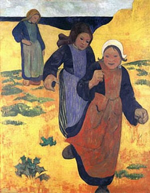 filles aux grands sables by paul sérusier