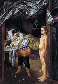 la chambre d'amis by dorothea tanning