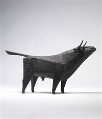 standing bull iii by terence coventry
