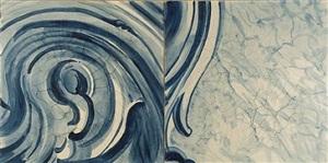 """diptico """"a onda"""" (diptych """"the wave"""") by adriana varejão"""