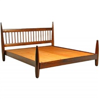 king size exotic wood bed frame by sergio rodrigues by sergio rodrigues