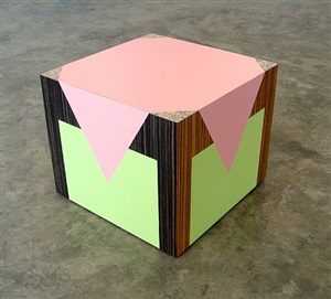 table (wannabe) by richard artschwager