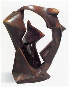 twentieth century sculpture archipenko, arp, belling, giacometti, lardera, laurens, wotruba, catalogue. berlin, by rudolf belling