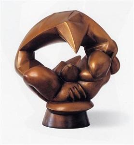 willi baumeister gemälde, zeichnungen rudolf belling skulpturen. berlin, by rudolf belling