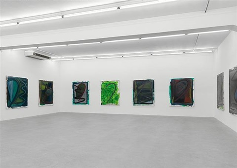 exhibition view galerie eva presenhuber by josh smith