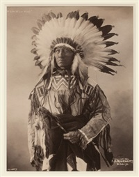 white whirl wind; crazy bear; poor dog...; pretty eagle...; red fellow; white whirl wind; white swan...; chief white man; pete mitchell...(11 works) by frank a. rinehart