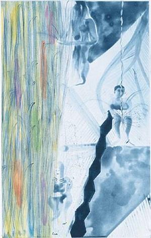 rincon falls-grey bathers by chris ofili