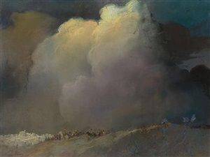 the storm (after the crucifixion) by abel pann