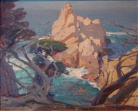 point lobos, monterey coast by william ritschel
