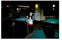 emily at the pool hall by collin la fleche