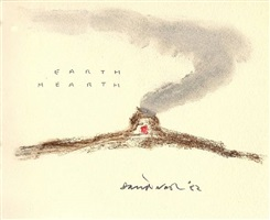 earth hearth by david nash