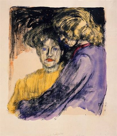 young girls by emil nolde