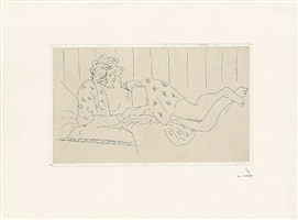 la lettre (der brief) by henri matisse