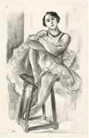 danseuse aus dix danseuses (tänzerin aus zehn tänzerinnen) by henri matisse