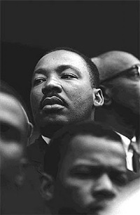 martin luther king, albama, 1965 by steve schapiro