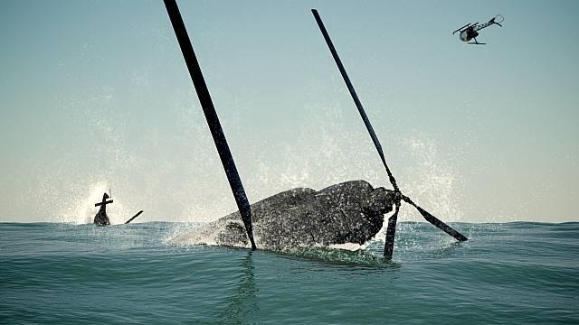 south china sea pishkun, still #3 by dinh q. lê