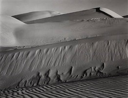 dunes, oceano, ca by edward weston