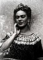frida kahlo en la casa azulcoyoacan, mexico 3/25 by leo matiz