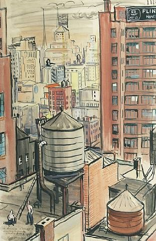 a view of new york by andre dupo
