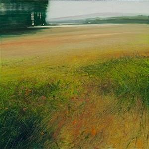 provencal landscape by david allen dunlop