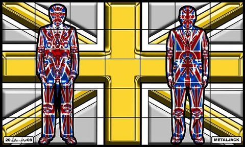 metaljack by gilbert & george