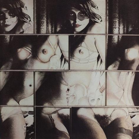 cliché verrevary cliche autoeroticism fetishism lesbianism by robert heinecken