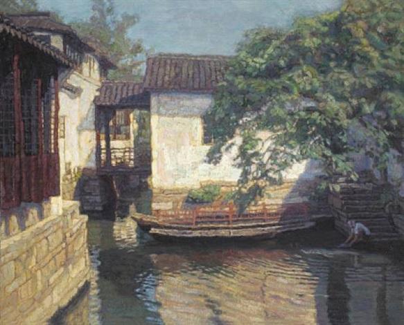 suzhou sunny day by chen yifei