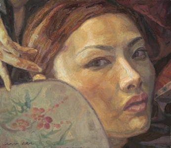 chen yifei - paintings and works on paper by chen yifei