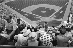 shea stadium, new york by tod papageorge