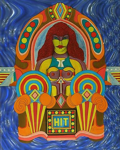 "hit (aus ""fun city"") by richard lindner"