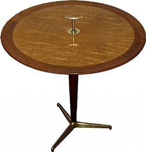 a dunbar gueridon tripod table by dunbar