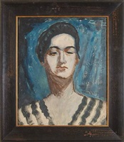 female by milton avery