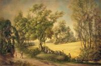 wild grape pickers by terence romaine von duren