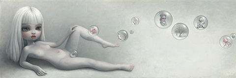 sophia's bubbles by mark ryden
