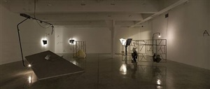 installation view by martin boyce