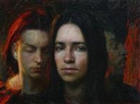 female portrait by steven assael