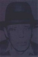 joseph beuys (246) by andy warhol