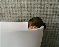 untitled (green bathroom) by aino kannisto