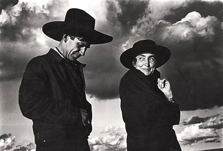 georgia o'keeffe and orville cox by ansel adams