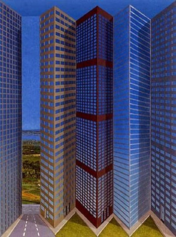 city by patrick hughes