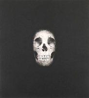 i once was what you are, you will be what i am (skull 2) by damien hirst
