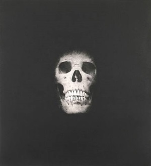 i once was what you are, you will be what i am (skull 3) by damien hirst