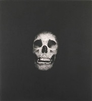 i once was what you are, you will be what i am (skull 4) by damien hirst