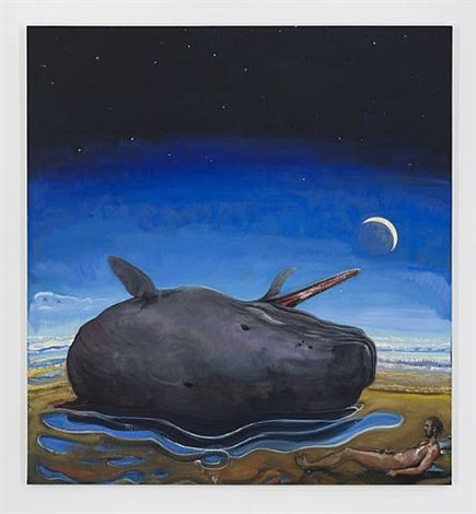 jonah and the whale (beached and spit out) by verne dawson